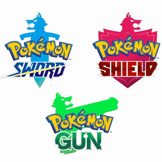 pokemon sword shield gun