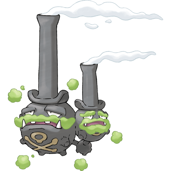 Smogogo Galar Officiel Artwork