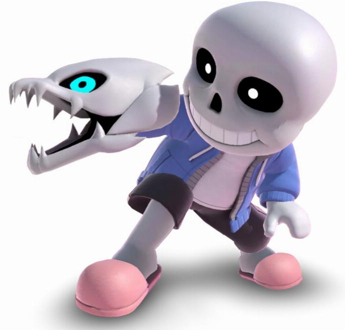 Smash Sans Undertale Tireur Mii