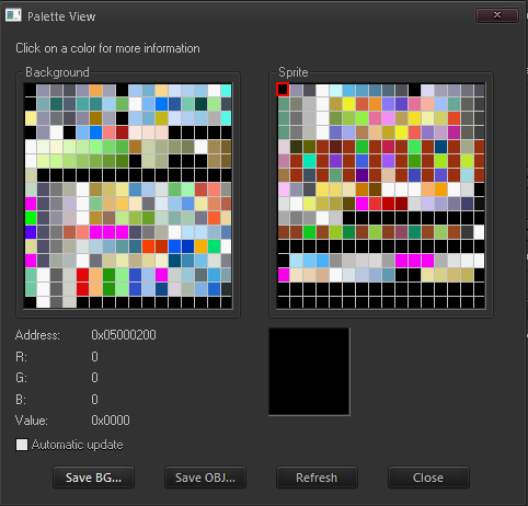 Palette Viewer