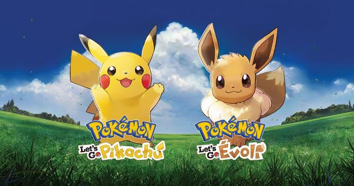 Pokemon Let's Go Pikachu Evoli