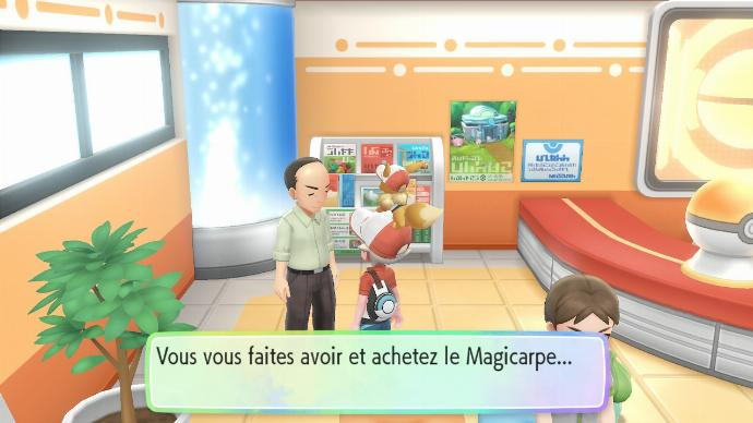 Pokemon Let's Go Achat Magicarpe