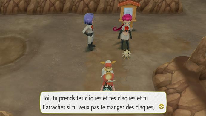 Pokemon Let's Go Rencontre Duo Team Rocket