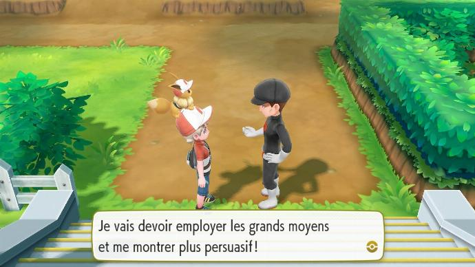 Pokemon Let's Go Team Rocket Recrutement