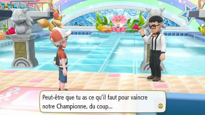 Pokemon Let's Go Arène Azuria