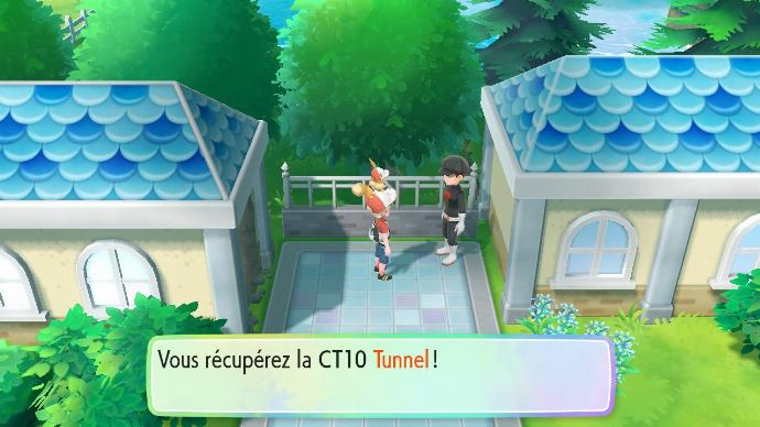 Pokemon Let's Go Team Rocket CT 10 Tunnel