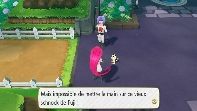 Pokémon Let's Go Jessie James Miaouss Team Rocket Lavanville