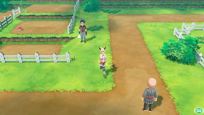 Pokémon Let's Go Route 8