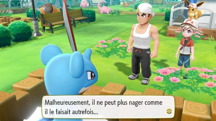 Pokémon Let's Go Parmanie Navigation Lokhlass