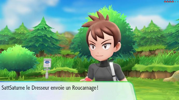 Pokémon Let's Go Combat Rival Route 22 Ligue