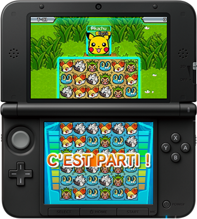 Gameplay de Pokemon Link: Battle!