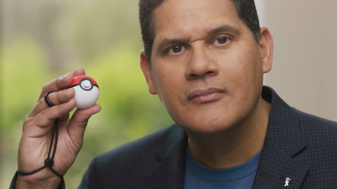 reggie poké ball plus