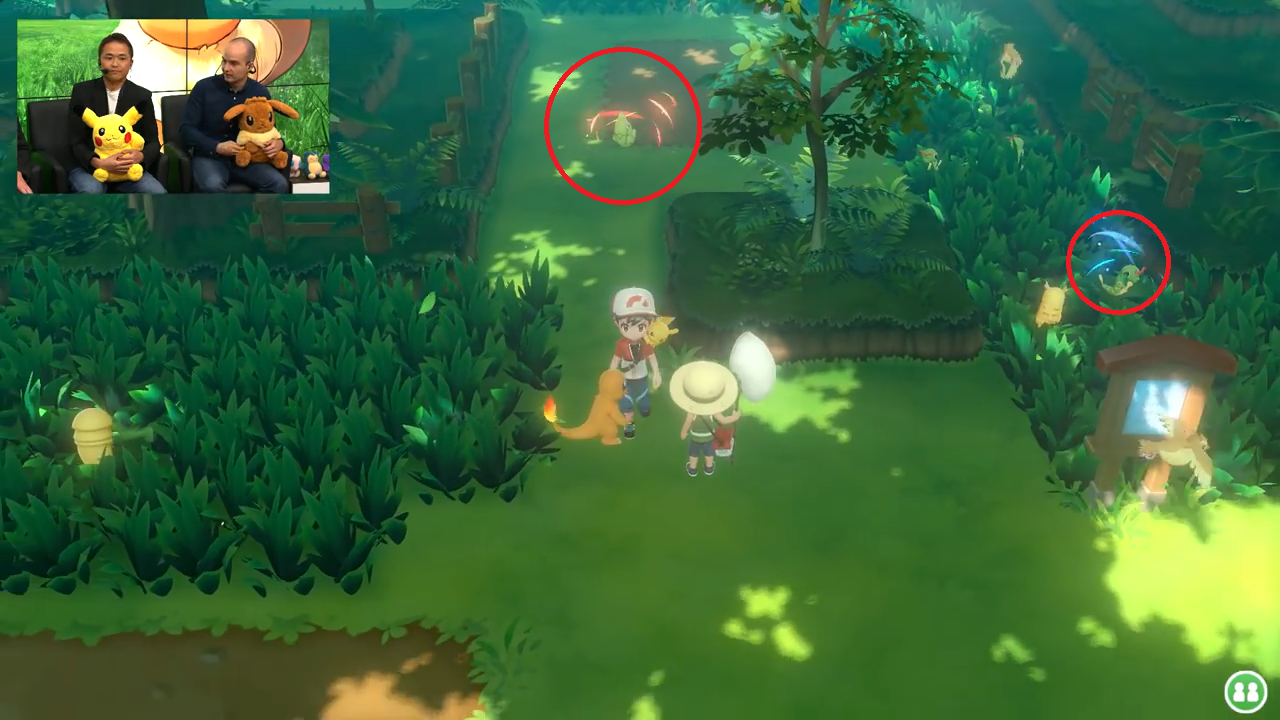 pokemon let's go étincelles