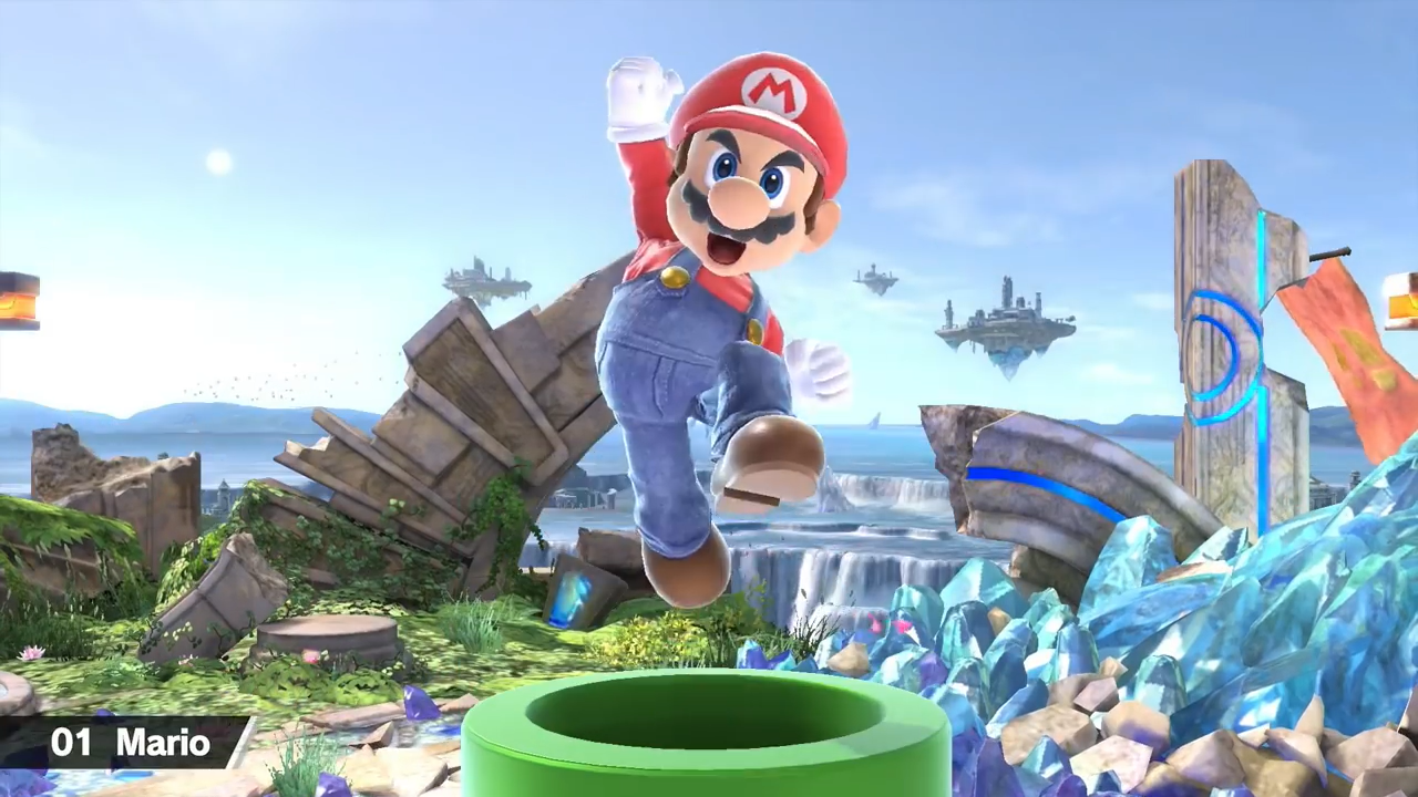 smash bros ultimate mario