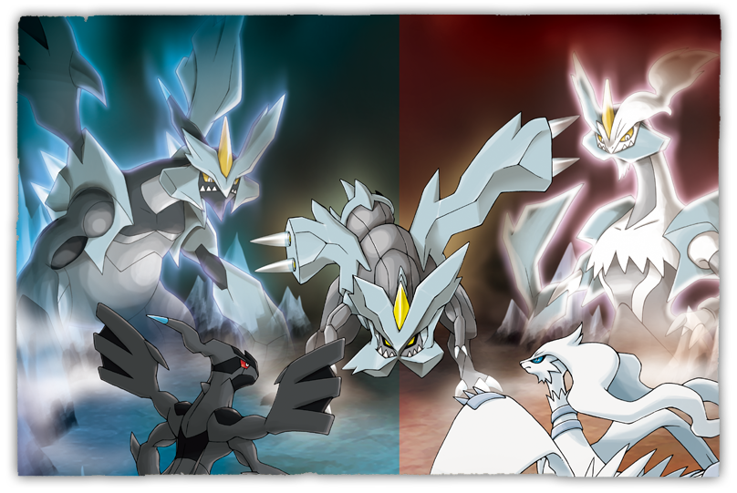 Solution team plasma kyurem et ghetis dans noir 2 blanc 2 - Pokemon kyurem blanc ...