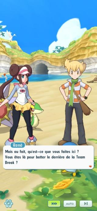 René Echo Pokémon Masters Screenshot