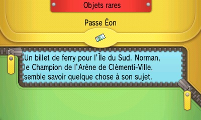 Description du Passe Éon