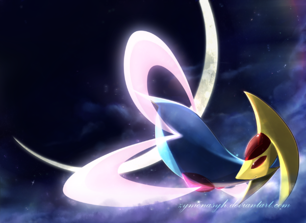 Artwork de Cresselia par ZymonasYH