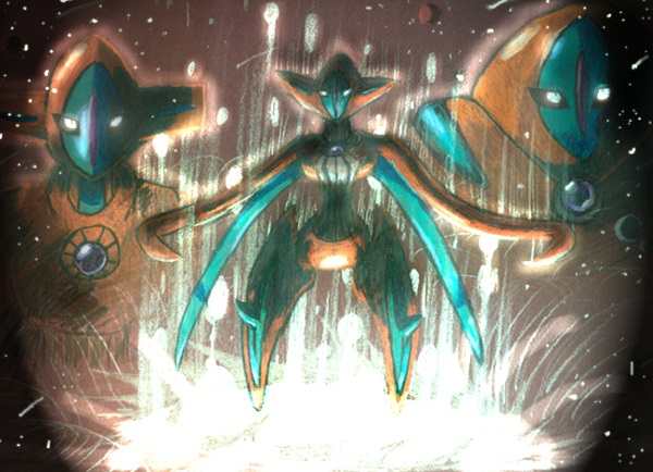 Artwork de Deoxys par DarkSerena