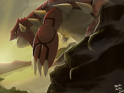 Artwork de Groudon par mark331