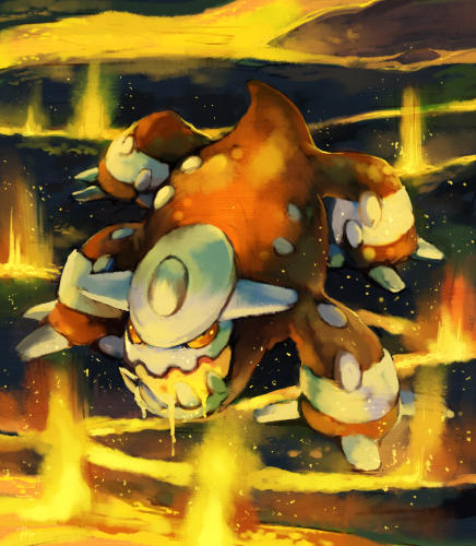 Artwork de Heatran par Purplekecleon