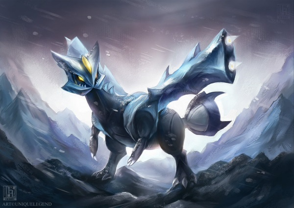 Artwork de Kyurem par EternaLegend