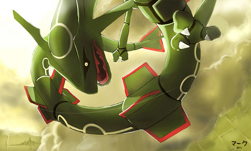 Artwork de Rayquaza par mark331