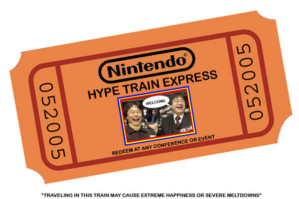 Ticket pour le Hype Train